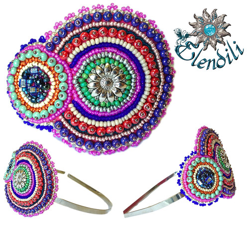 Diadema embroidery by **Elendili**