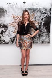 Miranda Kerr Orient Trend Celebrity Style Women's Fashion