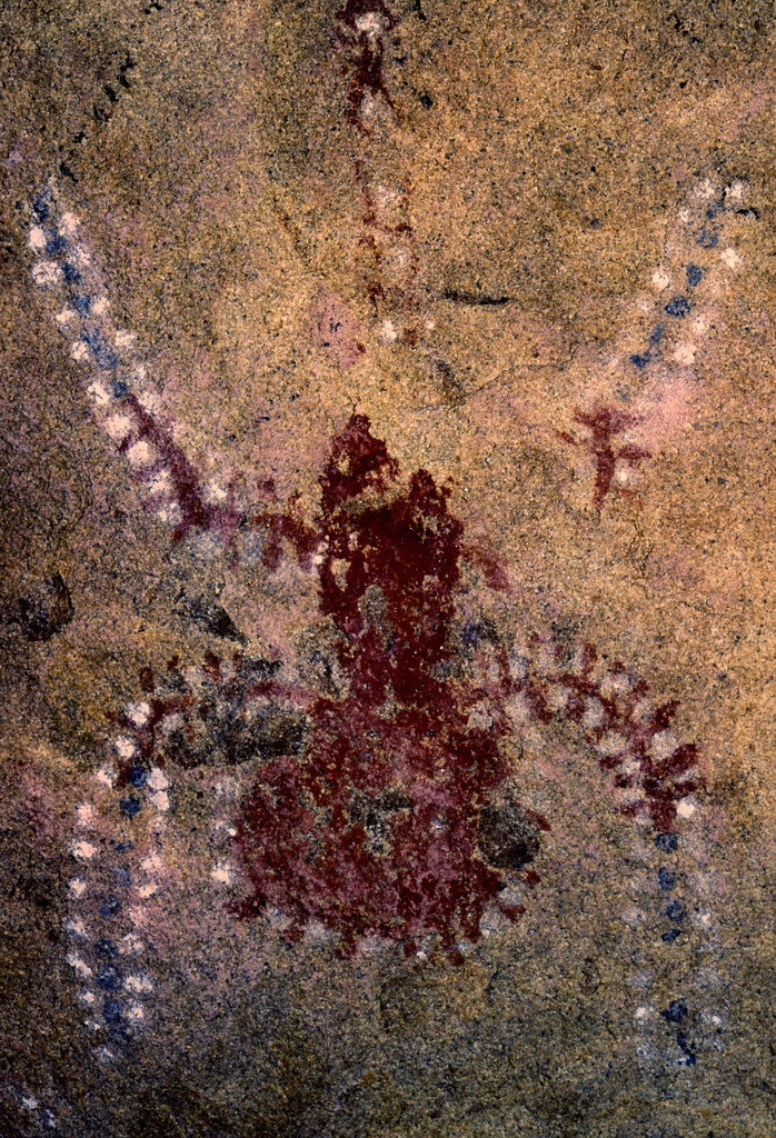 Chumash Rock Art Spider Alder Creek Sespe Wilderness