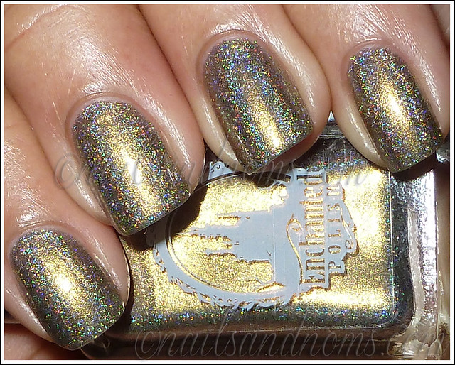Enchanted Polish Ho Ho Holoday - Olive The Other Reindeer Flash 1