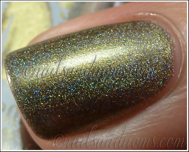 Enchanted Polish Ho Ho Holoday - Olive The Other Reindeer 3