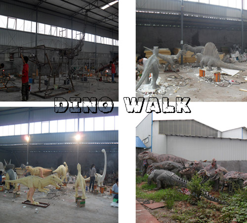 Make Animatronic Dinosaur Business with us