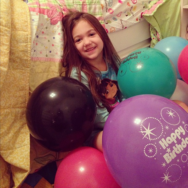 Happy 6th Birthday Baby Girl!!! We love you to the moon & back!!!