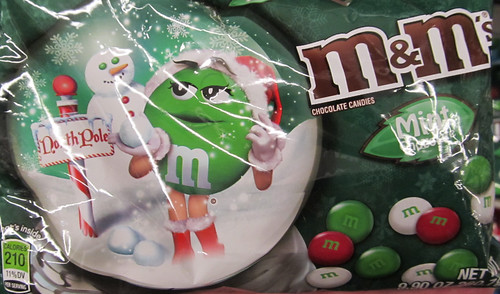 Christmas M&M Mint Packaging