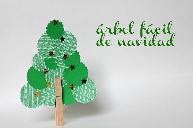 Manualidades con ni os un rbol de navidad f cil - Manualidad ninos navidad ...