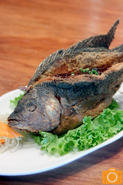 Chef Tatung Tamarind-Glazed Butterflied Tilapia