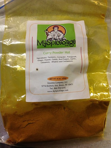 Curry Powder Hot from MySpiceSage
