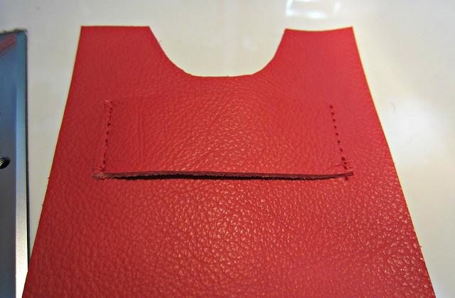 7 strap sewn