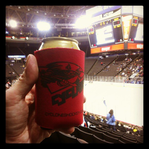 @CincyCyclones $1 beer night! #WetWednesday @USBankArena #CyclonesPhotoANight