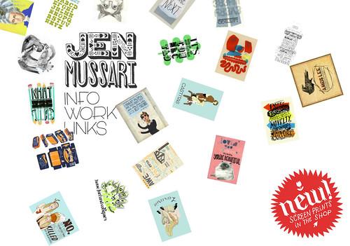 JEN MUSSARI WEBSITE