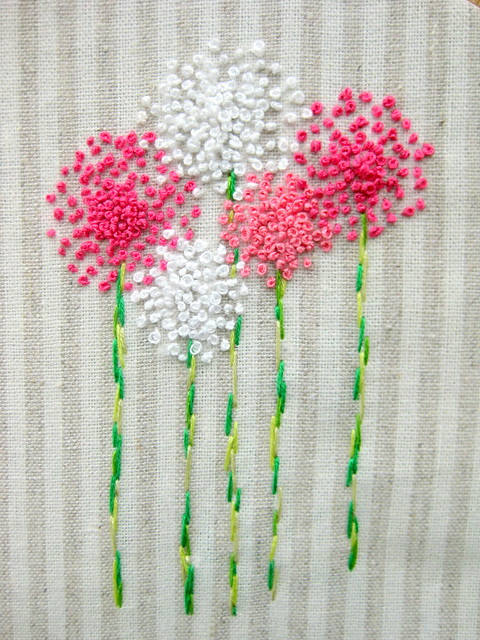 Flower Embroidery  Flickr  Photo Sharing