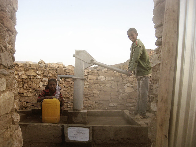 charity:water fegene village project