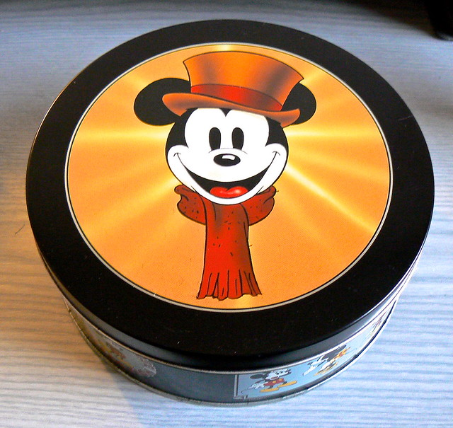 Mickey's Christmas Carol Tin