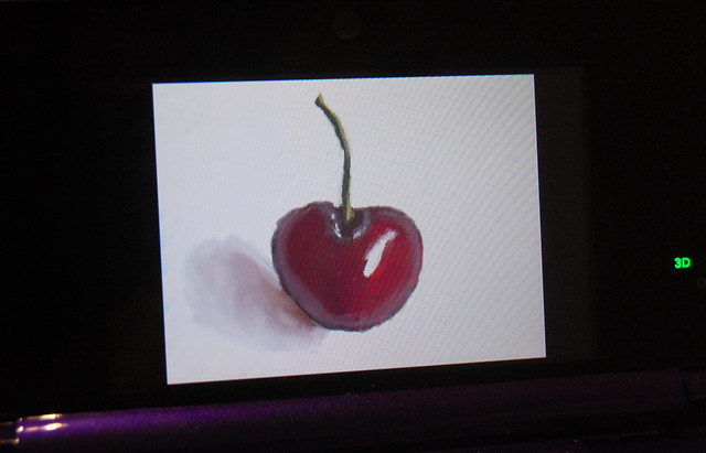 Cherry, drawn with Art Academy for Nintendo 3DS