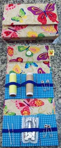 Kit costura de bolsa by Galinha Xoca