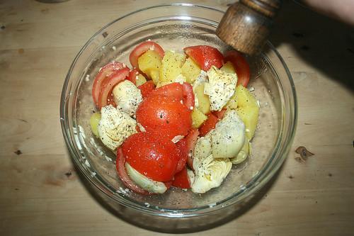 28 - Mit Salz & Pfeffer würzen / Taste with salt & pepper