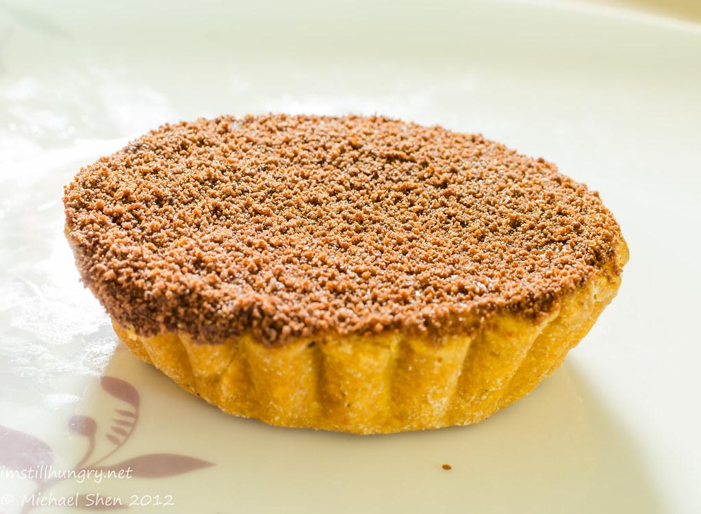 Bourke St Bakery - raspberry chocolate mousse tart
