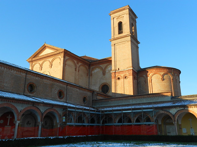 Certosa, chiostro, terremoto - Ferrara