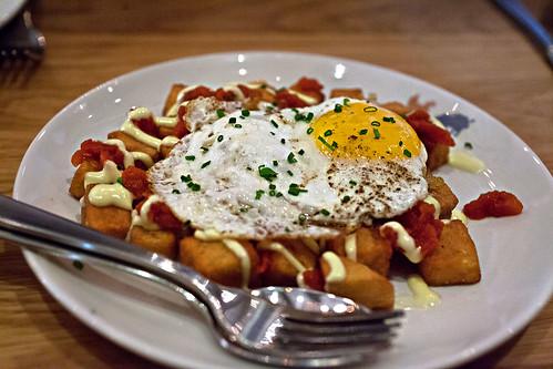 Potatoes, Spanish style.