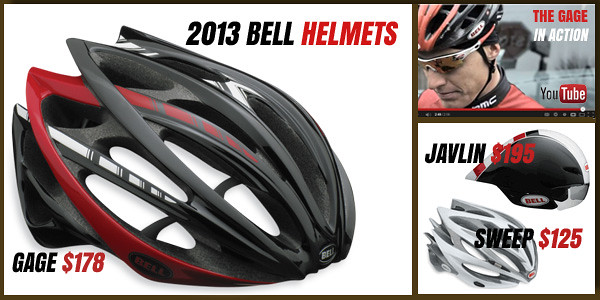 New Bell Gage Helmet and Video
