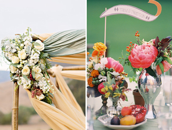 Wedding Flowers via Lovestru.ck