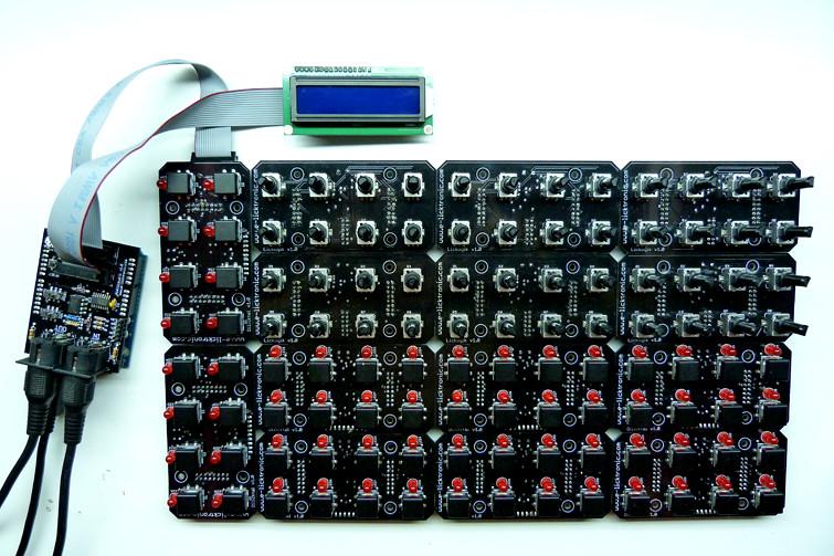 Arduino midi controller DIY e-licktronic