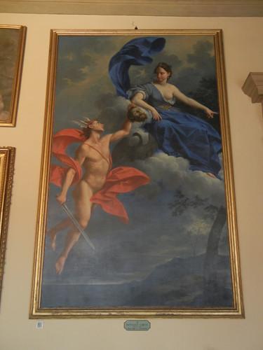 DSCN4711 _ Mercurio e Giunone, Donato Creti, Palazzo D'Accursio (Palazzo Comunale), Bologna, 18 October