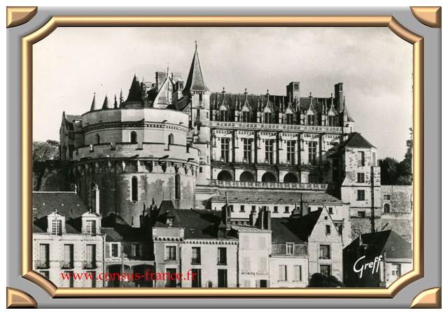 364 - AMBOISE (Indre et Loire) Le Chateau (façade nord) -70-150