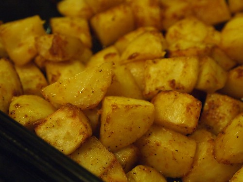 Parmesean Paprika Potatoes