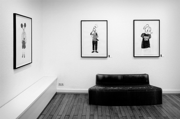 stefan golz, all ghosts - exhibiton pics