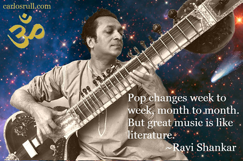 Ravi Shankar, on Music