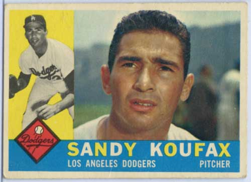 1960 Topps Sandy Koufax