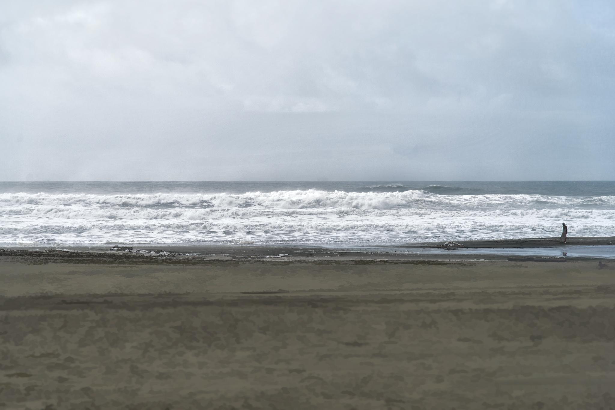 Alone - Ocean Beach - 2012