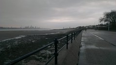 Liverpool from Vale Park Promenade Gates: Copyright 17th December, 2012 Kevin & Jane Moor