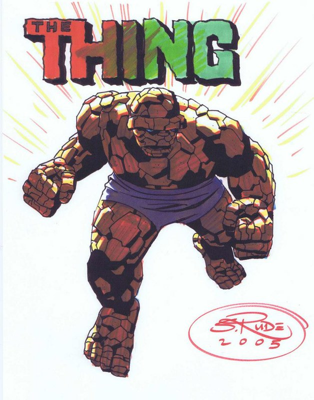 The Thing by Steve Rude