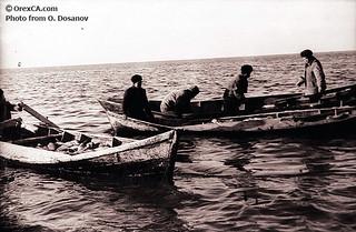 Imagen antigua del Mar de Aral