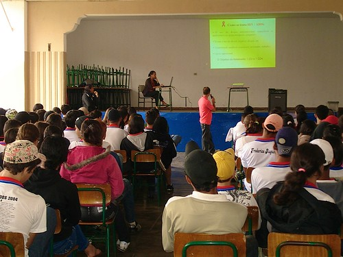 AAVE provides education in local schools on HIV/AIDS and its prevention