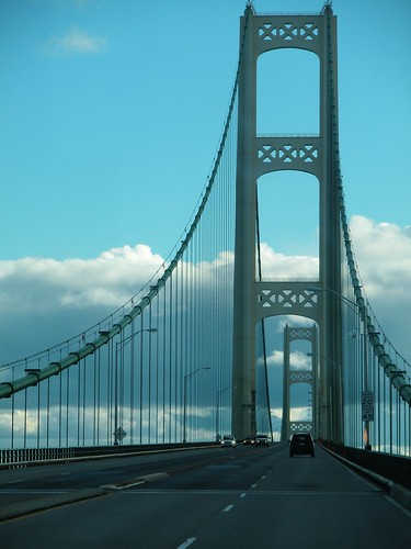 Mackinac Bridge. From Interesting Things to See on a Road Trip
