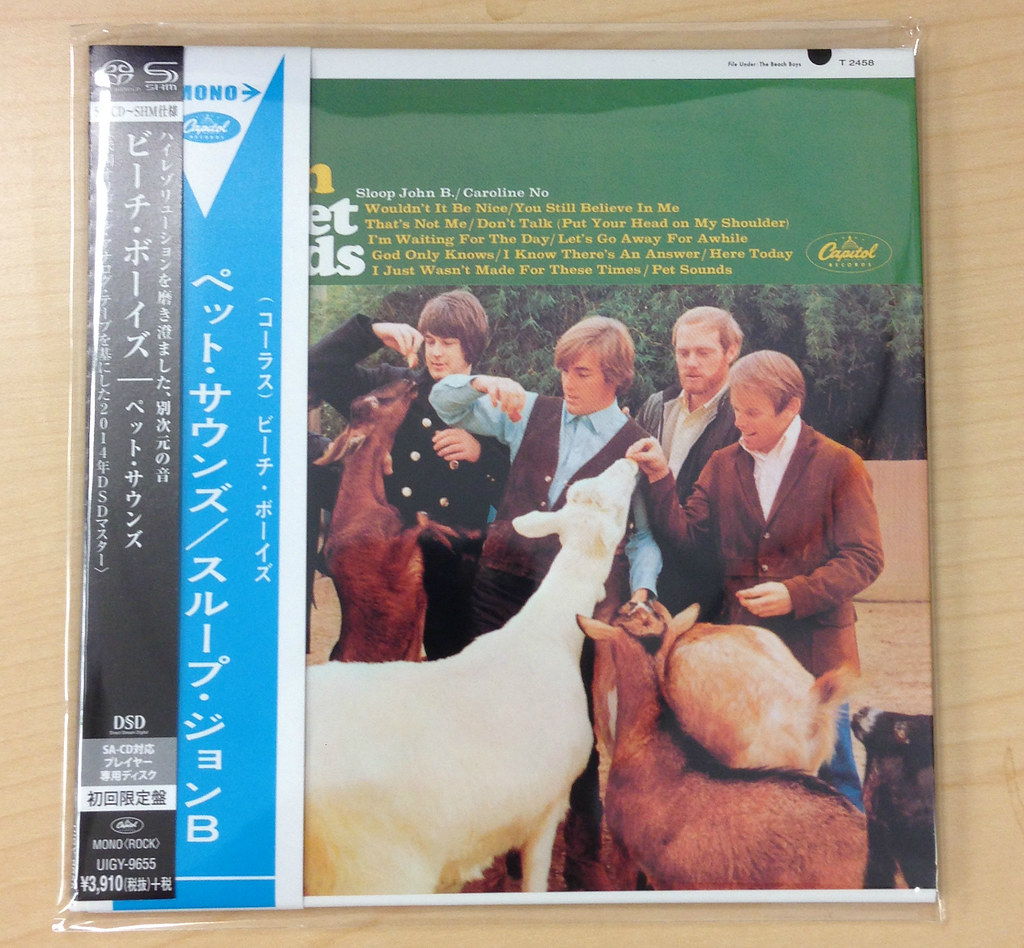 The Beach Boys - Pet Sounds (Japan SHM-SACD version)   Flickr