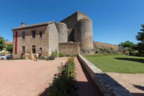 Semur-en-Brionnais Ruine