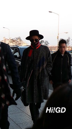 Big Bang - Gimpo Airport - 15jan2015 - G-Dragon - Hi GD - 01