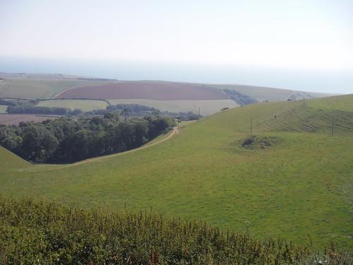Valley on Descent to Portesham
