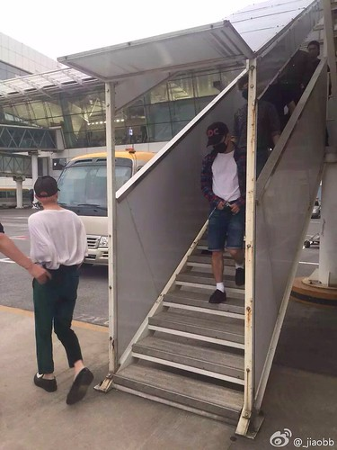 BIGBANG arrival Wuhan 2015-06-26 009