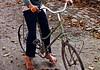 Nicht alle Radler im Dorf sind auch Meister der Fahrradpflege.