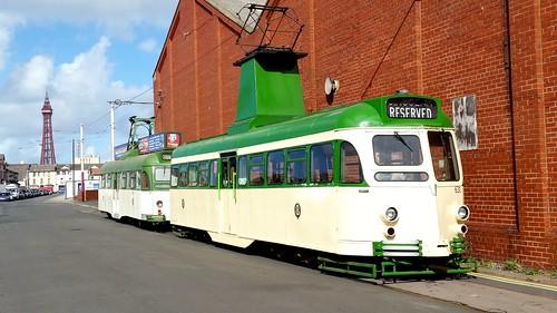 631 & 632 - Blackpool Transport Rigby Road Blackpool September 2016