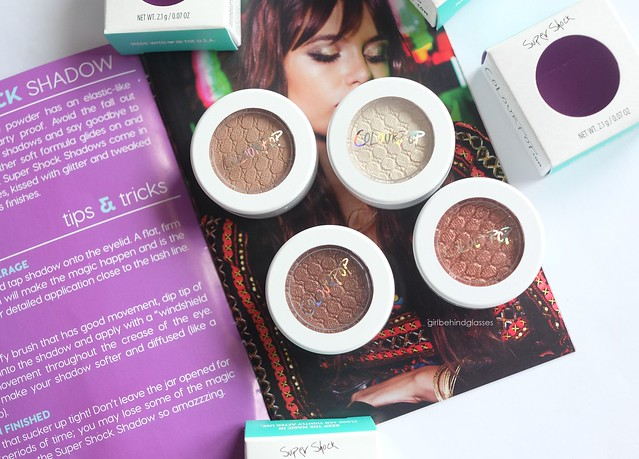 ColourPop Super Shock Shadow Hanky Panky Girly GDAF Sequin3