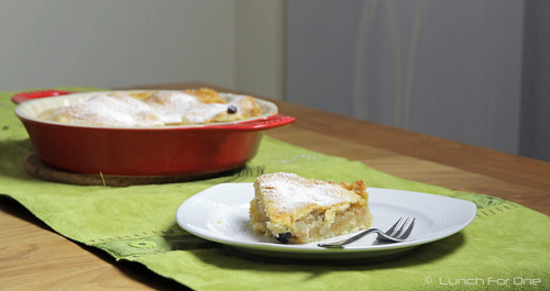 Apfel-Vanille-Rosinen Pie