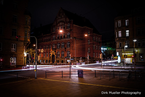 Night at Stuttgart-West by Dirk0608