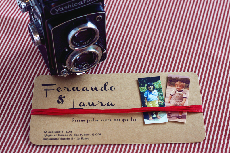 invitación fernando y laura fotos