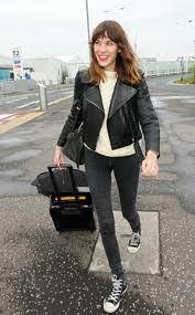Alexa Chung Converse Celebrity Style Women's Fashion